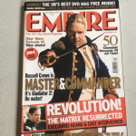 Empire Magazine December 2003 issue 174 Master And Commander